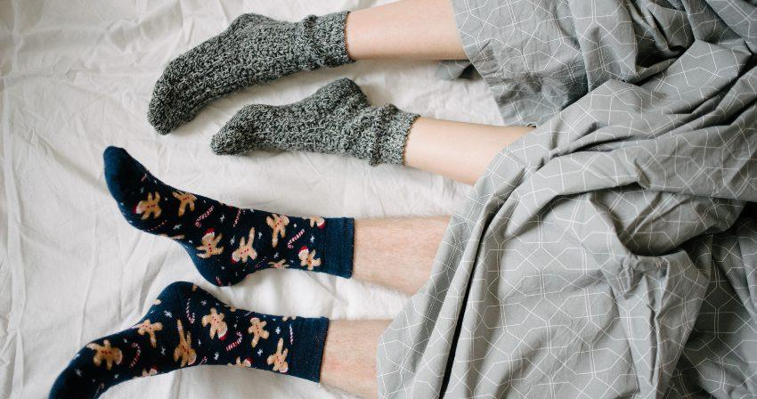 Hinterlassen abdrücke socken Alle Socken/Kniestrümpfe