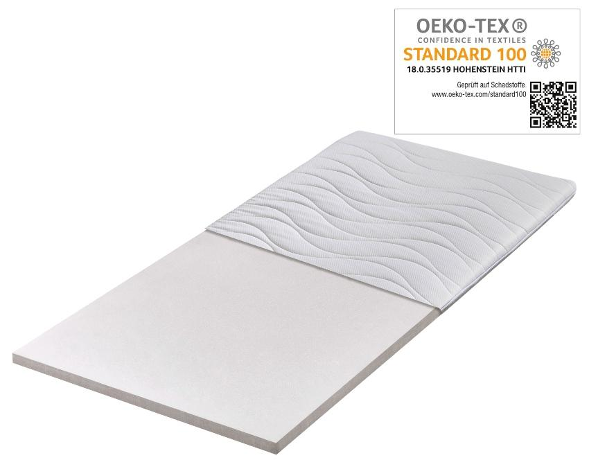 OrthoMatra Traumland 1000 Federkernmatratze mit Tencel Klimafaser -Bezug