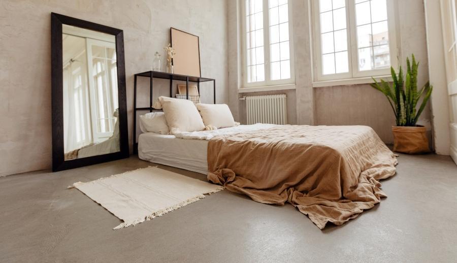Bodennahes Bett/Matratze -Matratzenbelüftung ist hier extrem wichtig