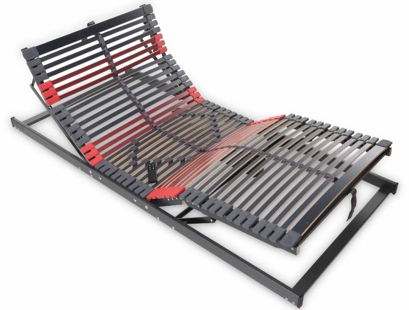 Betten-ABC Max-Premium Motorlattenrost mit elektrischer Kopf- und Fußteilverstellung, 7 Zonen