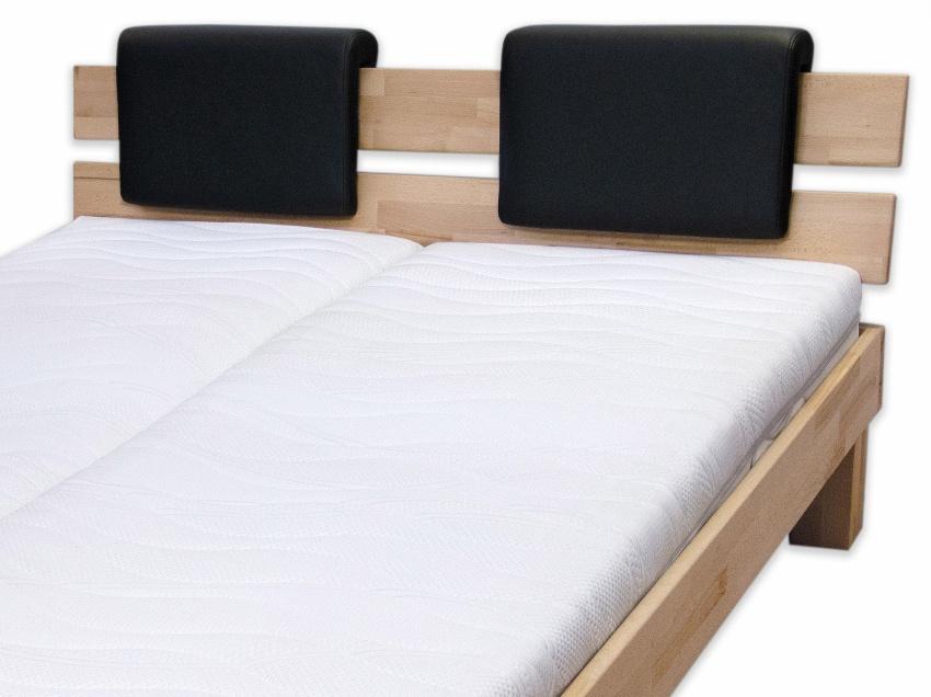 Bubema Polster-Steckkissen für Bettkopfteil, 2er-Set,für viele gängige Betten, 7 versch. Farben