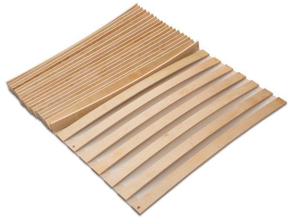 MaDeRa Natura Federleisten Rollrost, extrem stabil , aus Birkenholz, unbehandelt auch für Wohnmobile