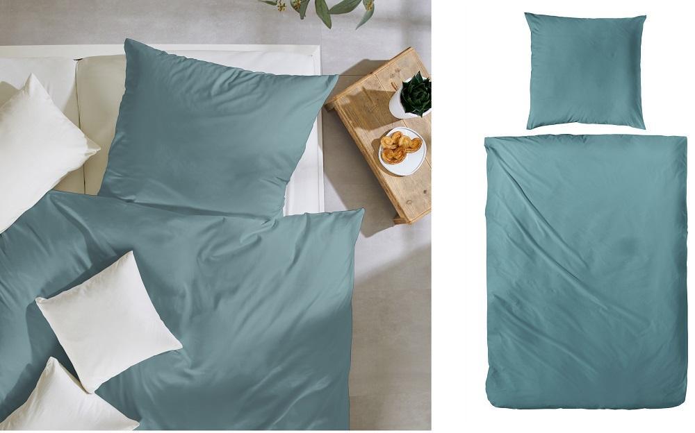 Traumhaft gut schlafen Perkal-Bettwäsche 2-teilig, Uni-Farben, in versch. Farben und Größen