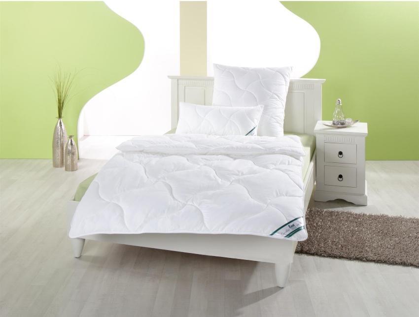 f.a.n. Essential - Hausstaub-Milbenschutz Decke/ Kissen, waschbar und trocknergeeignet | PRONEEM® Technologie gegen die Hausstaubmilbe