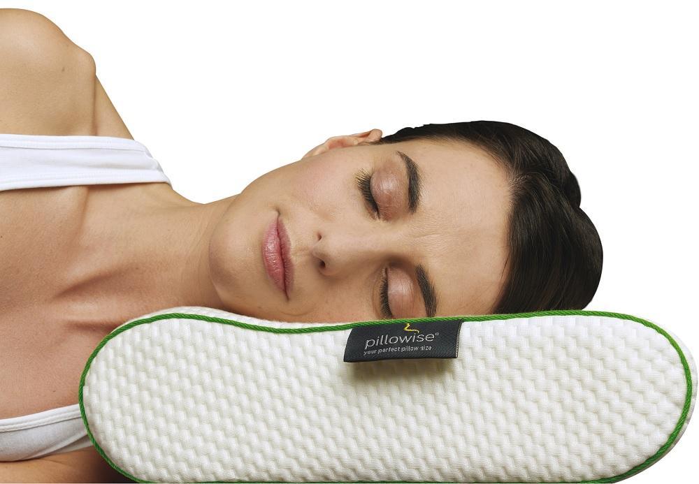 Pillowise Nackenstützkissen, Füllung mit 100% Memory Schaum