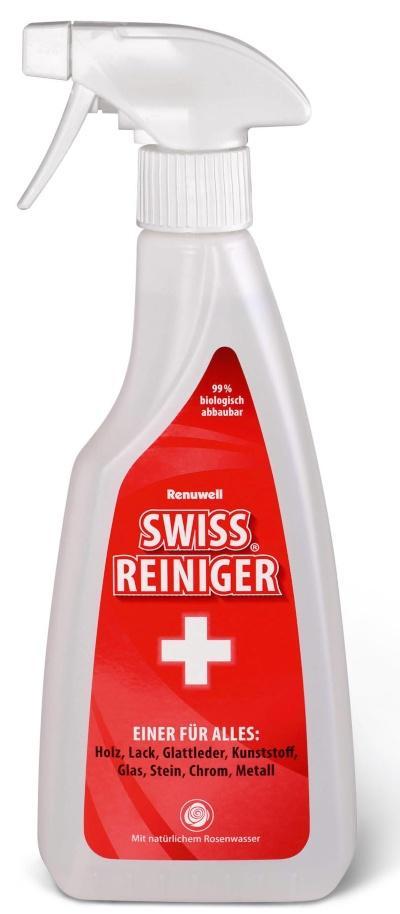 Renuwell Swiss Reiniger für alle Oberflächen, für die tägliche und milde Reinigung