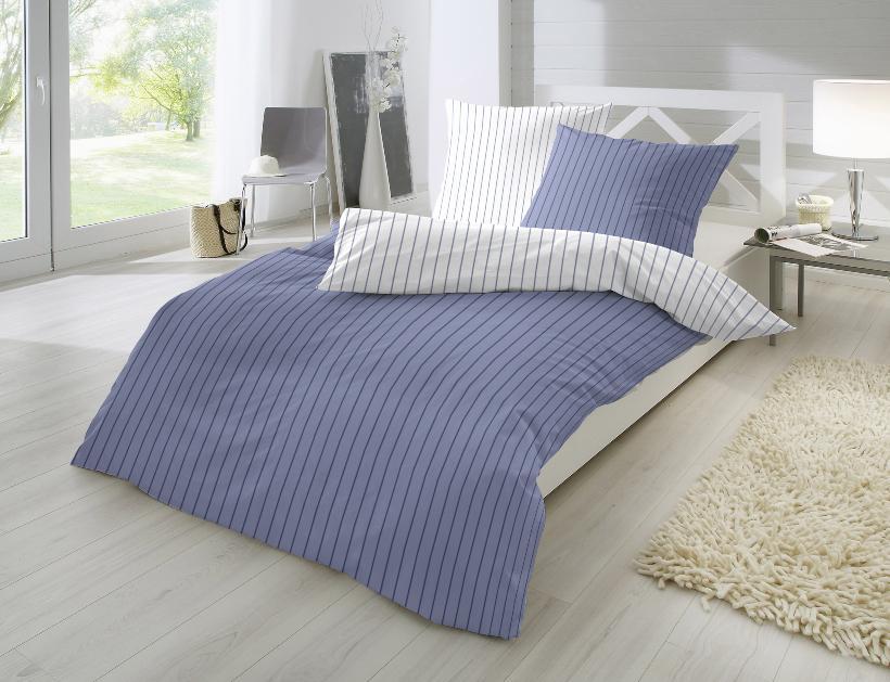 Modernes Schlafzimmer mit Primera Perkal-Bettwäsche 2-teilig
