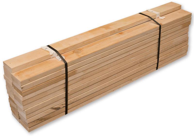 Rollrost, Stabiles Erlenholz, zusammengerollt