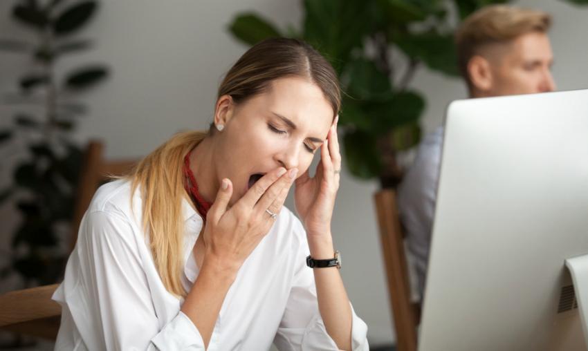 Schlafmangel führt zu verminderter Leistungsfähigkeit